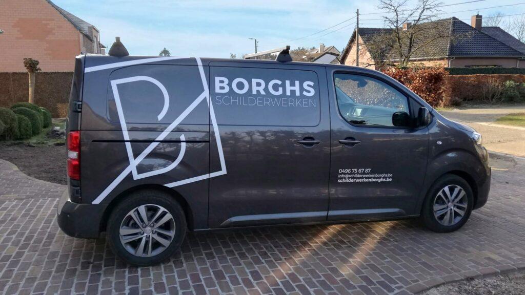 Borghs schilderwerken bestickering