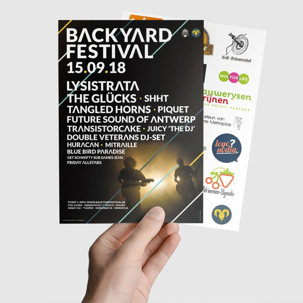 Backyard flyer festival