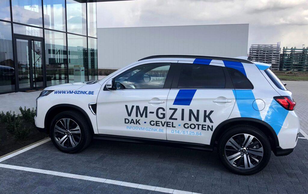 VM-Gzink bestickering