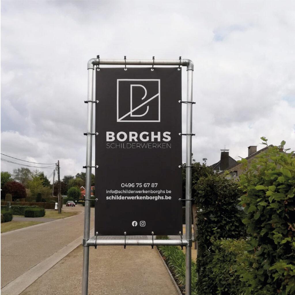 Borghs schilderwerken spandoek